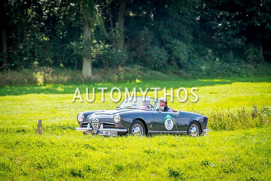 Automythos | 10. Hamburg Berlin Klassik 2017 | 17 | Dr. Hans H. Hamer & Boris Rogosch | Alfa Romeo Giulia Spider 1600