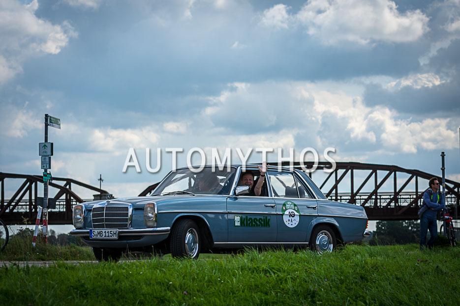 Automythos | 10. Hamburg Berlin Klassik 2017 | 18 | Frank B. Meyer & Knut Simon | Mercedes-Benz 230.4