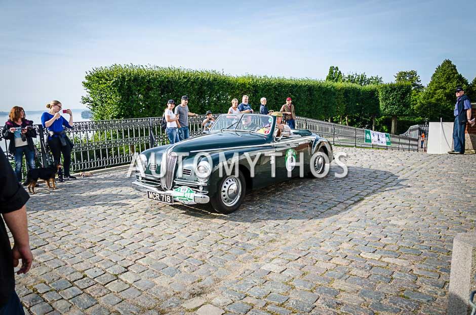 Automythos | 10. Hamburg Berlin Klassik 2017 | 19 | Gary Stephen Pusey & Hugh Cameron-Rose | Bristol 401 Farina Cabriolet