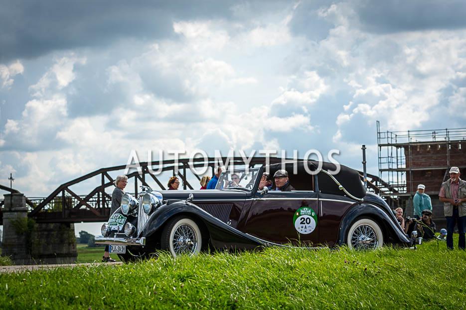 Automythos | 10. Hamburg Berlin Klassik 2017 | 20 | Norbert Szupryczynski & Brigitte Szupryczynski | Jaguar Mk IV