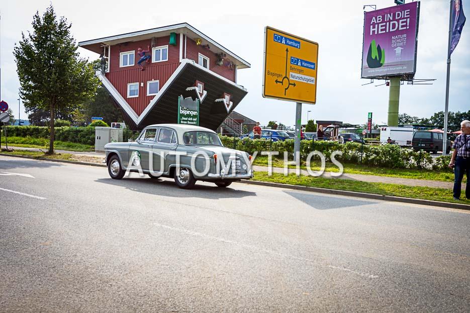 Automythos | 10. Hamburg Berlin Klassik 2017 | 23 | Matthias Hübener & Jutta Hübener | Austin A 105 de Luxe