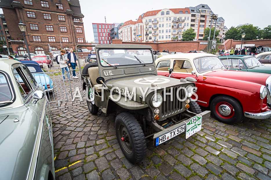 Automythos | 10. Hamburg Berlin Klassik 2017 | 24 | Stephan Cimbal & Benjamin Schweppe | Willys Jeep