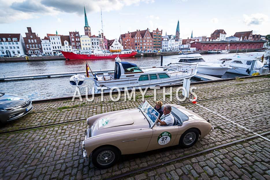 Automythos | 10. Hamburg Berlin Klassik 2017 | 27 | Christian Deneke & Stefanie Deneke | Austin-Healey 100/4