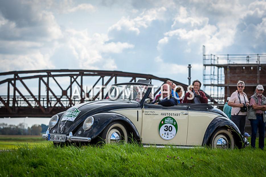 Automythos | 10. Hamburg Berlin Klassik 2017 | 30 | Otto Ferdinand Wachs & Katharina Schubert | Volkswagen Typ 14 Hebmüller