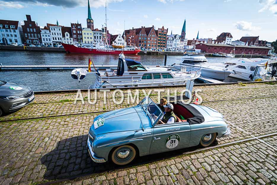 Automythos | 10. Hamburg Berlin Klassik 2017 | 31 | Andreas Hornig & Renate Freiling | Volkswagen Rometsch Beeskow