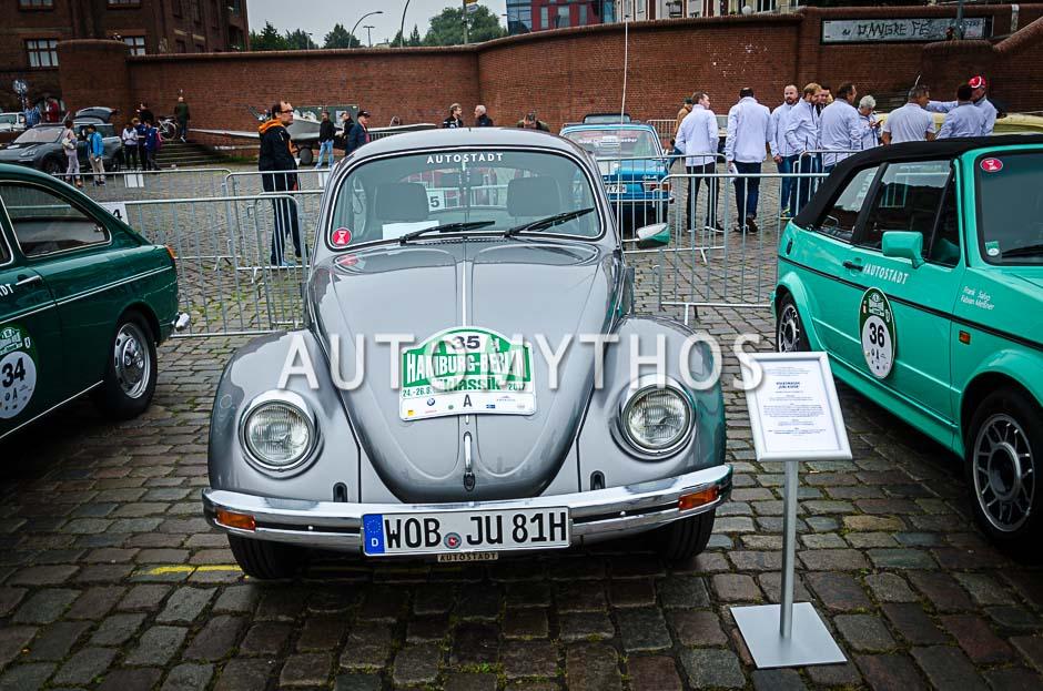 Automythos | 10. Hamburg Berlin Klassik 2017 | 35 | Tim Westermann & Alexander Voigt | Volkswagen Jubikäfer
