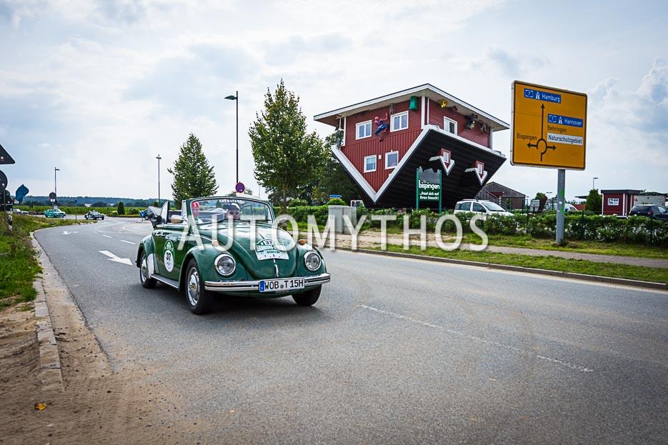Automythos | 10. Hamburg Berlin Klassik 2017 | 37 | Mario Ketterer & Hartmut Adam | Volkswagen 1500 Cabriolet
