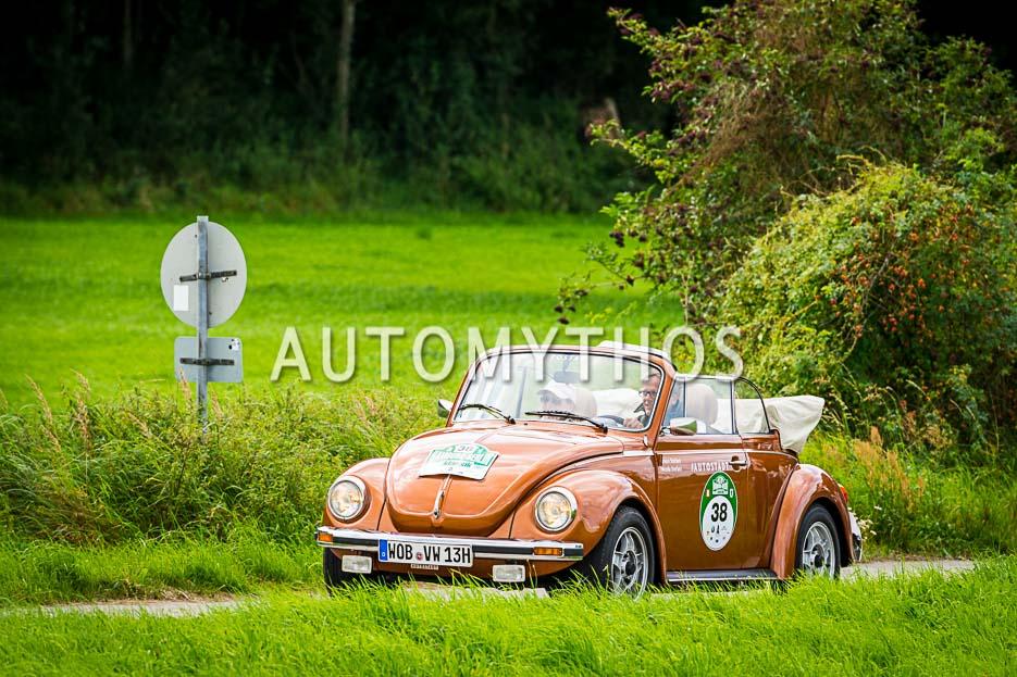 Automythos | 10. Hamburg Berlin Klassik 2017 | 38 | Simon Stefani & Nicola Stefani | Volkswagen 1303 Cabriolet