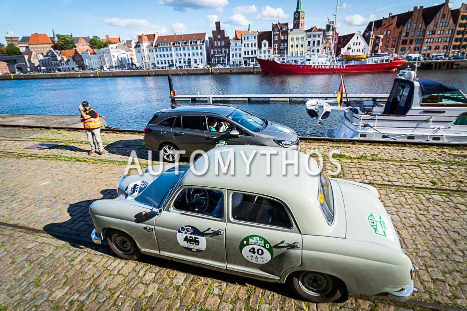 Automythos | 10. Hamburg Berlin Klassik 2017 | 40 | Christian Plagemann & Alexander Plagemann | Mercedes-Benz 180 D
