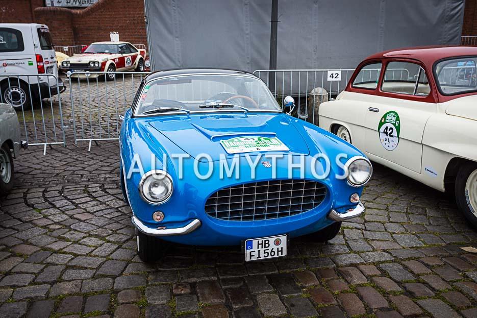 Automythos | 10. Hamburg Berlin Klassik 2017 | 41 | Jann Kleemeyer & Petra Kleemeyer | Fiat 1100 TV Boano Sport Coupé