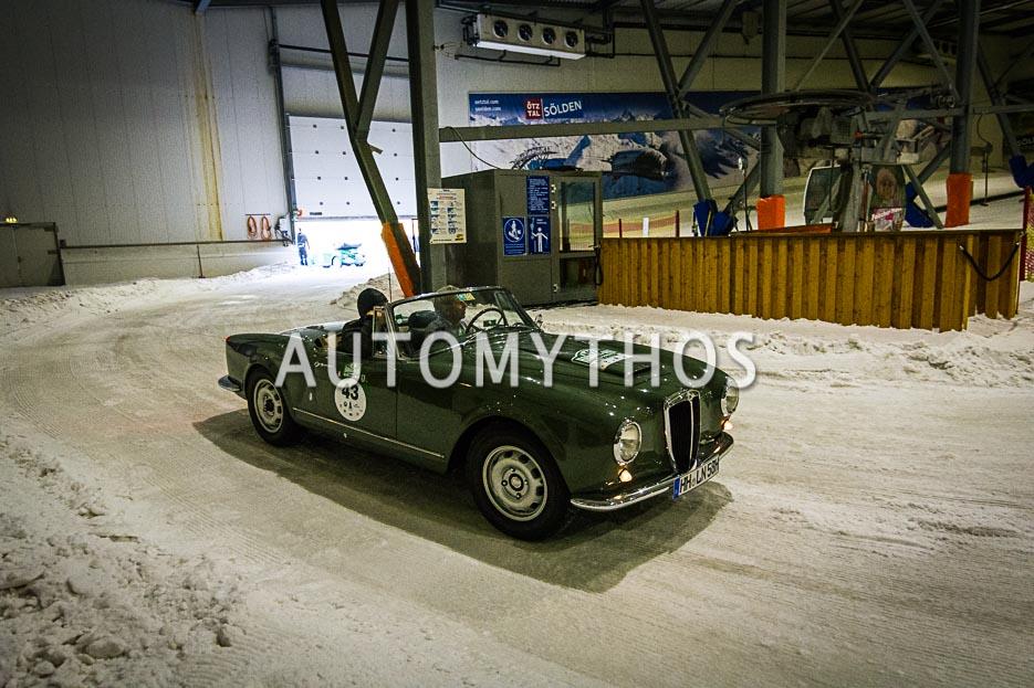 Automythos | 10. Hamburg Berlin Klassik 2017 | 43 | Dr. Ralph Geuther & Dr. Frank-Niels Reese | Lancia Aurelia B24-S Convertibile