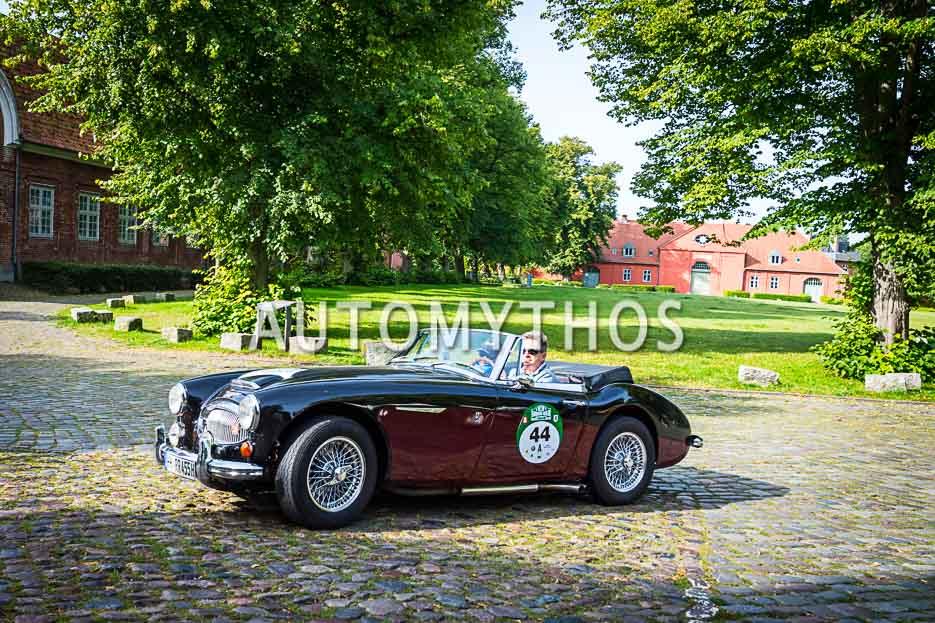 Automythos | 10. Hamburg Berlin Klassik 2017 | 44 | Ralf Krohn & Rahimeh Krohn | Austin-Healey Mk III BJ8