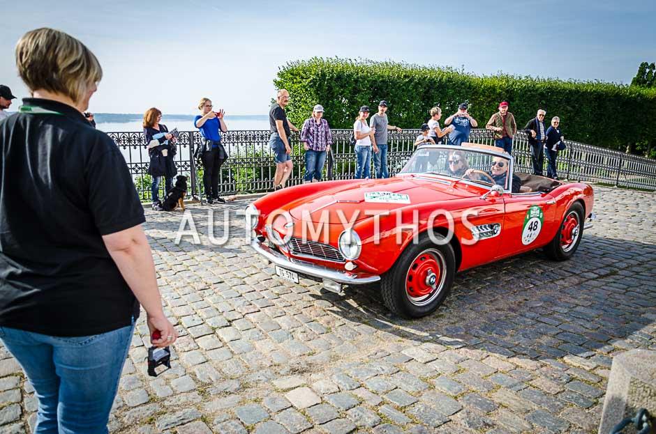 Automythos | 10. Hamburg Berlin Klassik 2017 | 48 | Heinz Eberhart & Evelyne Eberhart | BMW 507
