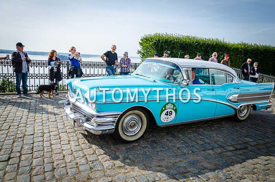 Automythos | 10. Hamburg Berlin Klassik 2017 | 49 | Johannes Schapler & Rose Tschanun | Buick Roadmaster 75