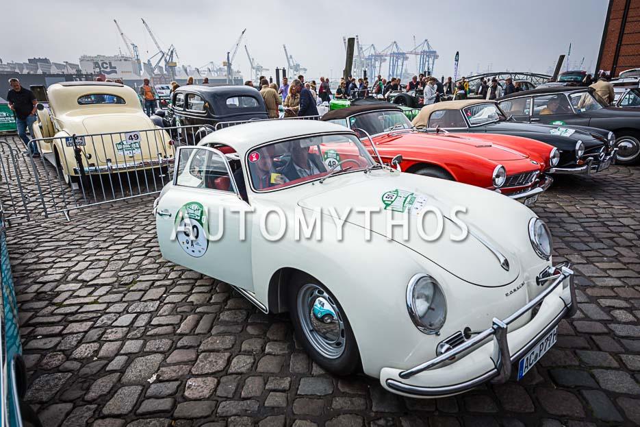 Automythos | 10. Hamburg Berlin Klassik 2017 | 50 | Dr. Michael Effing & Maximilian Effing | Porsche 356 A