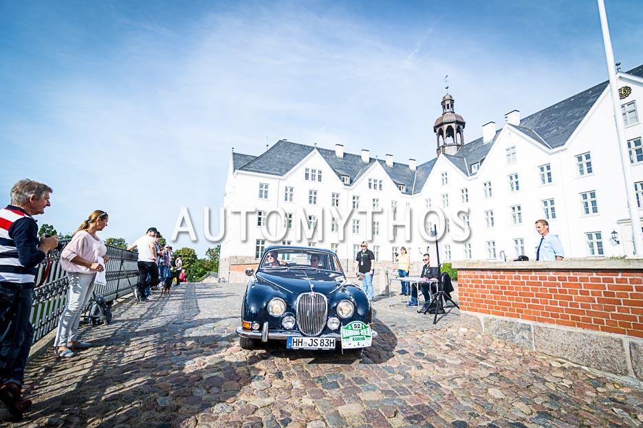 Automythos | 10. Hamburg Berlin Klassik 2017 | 52 | Philipp Neumann & Stefan Henning | Jaguar S-Type