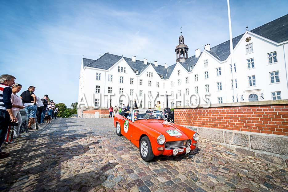 Automythos | 10. Hamburg Berlin Klassik 2017 | 53 | Bert Christmann & Christoph Kleiner | Austin-Healey Sprite Mk IV