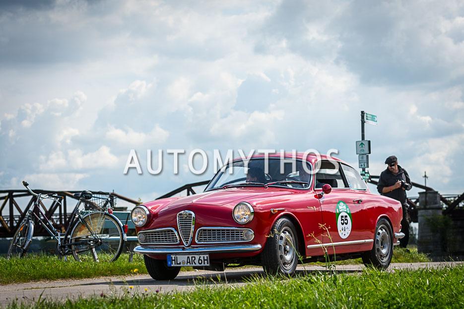 Automythos | 10. Hamburg Berlin Klassik 2017 | 55 | Harald Wendt & Andrea Wendt | Alfa Romeo Giulietta Sprint