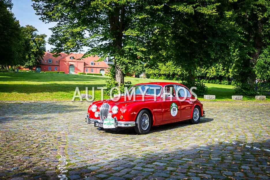 Automythos | 10. Hamburg Berlin Klassik 2017 | 56 | John Larsen & Marianne Larsen | Jaguar Mk 2