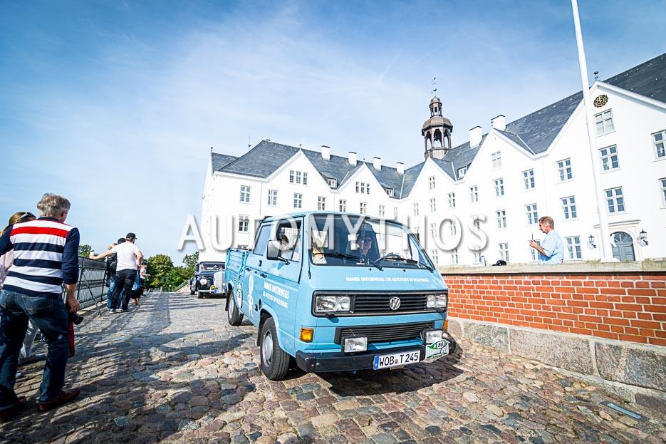 Automythos | 10. Hamburg Berlin Klassik 2017 | 58 | Dr. Erich Glavitza & Siegfried Rauch | Volkswagen T3 Doppelkabine