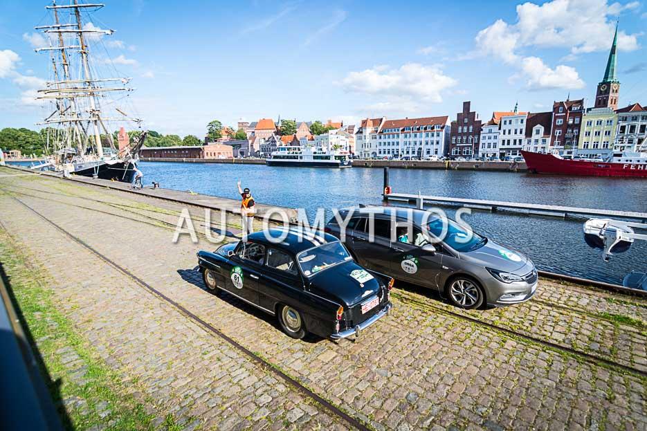 Automythos | 10. Hamburg Berlin Klassik 2017 | 61 | Peter Sudeck & Ursula Sudeck | Skoda 1200 TS