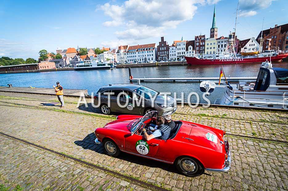 Automythos | 10. Hamburg Berlin Klassik 2017 | 62 | Michael Pitsch & Malte Klarczyk | Alfa Romeo Giulietta Spider