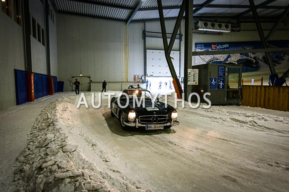 Automythos   10. Hamburg Berlin Klassik 2017   65   Stephan Schlueter & Dr. Dr. Sebastian Flinzberg   Mercedes-Benz 300 SL