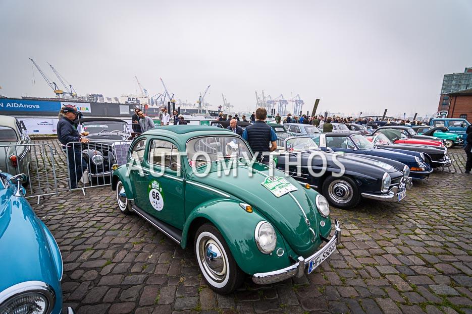 Automythos | 10. Hamburg Berlin Klassik 2017 | 66 | Hartmut Schöbel & Iris Schöbel | Volkswagen 1200