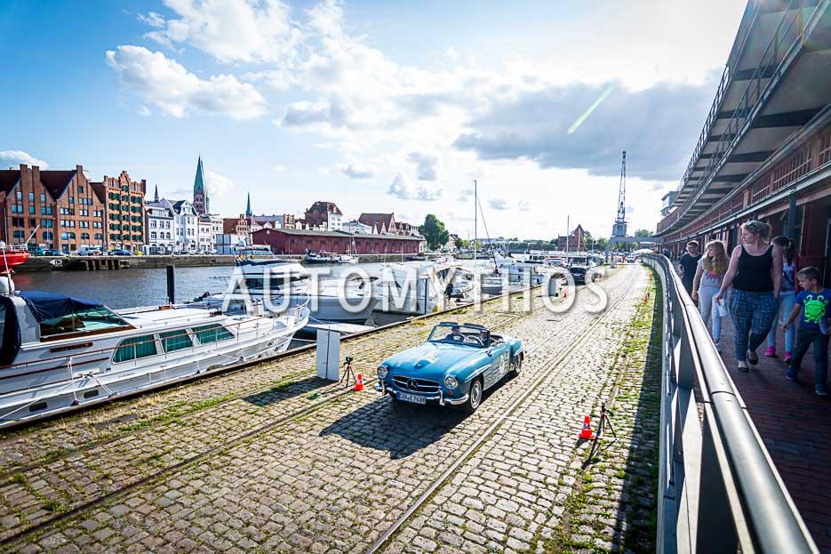 Automythos | 10. Hamburg Berlin Klassik 2017 | 67 | Uwe Schultz & Esther Schultz | Mercedes-Benz 190 SL
