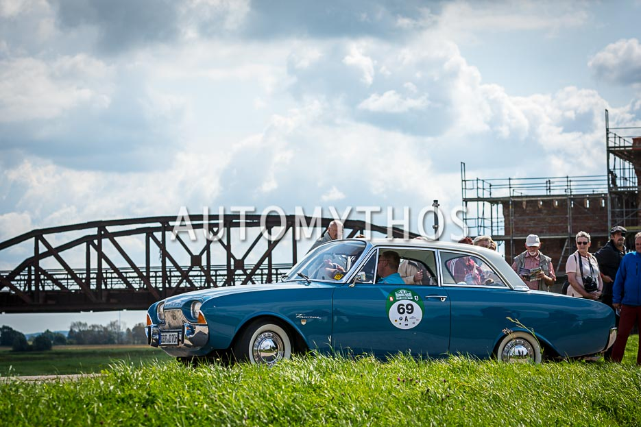 Automythos | 10. Hamburg Berlin Klassik 2017 | 69 | Daniel Mielke & Arnd Rosenau | Ford Taunus 17M P3
