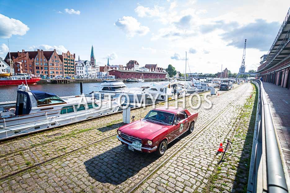 Automythos | 10. Hamburg Berlin Klassik 2017 | 72 | Walter Erke & Barbara Erke | Ford Mustang
