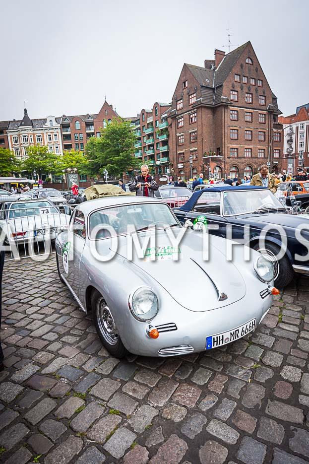 Automythos | 10. Hamburg Berlin Klassik 2017 | 73 | Jörn Rompel & Maren Hoffmann | Porsche 356 C