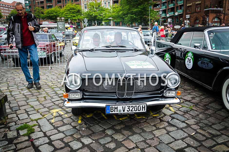 Automythos | 10. Hamburg Berlin Klassik 2017 | 75 | Thomas Bormann & Regina Ludwig | BMW 3200 CS