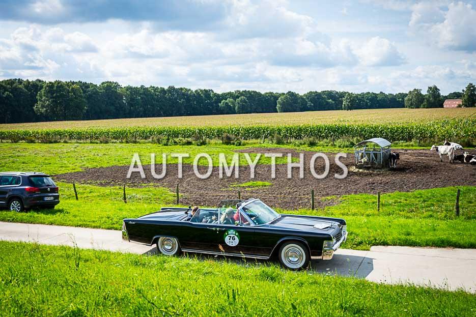 Automythos | 10. Hamburg Berlin Klassik 2017 | 76 | René Schoras & Katja Schoras | Lincoln Continental Convertible