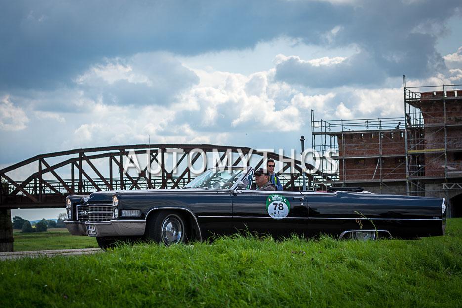 Automythos | 10. Hamburg Berlin Klassik 2017 | 78 | Michael Pape & Hans-Werner Brandt | Cadillac de Ville Convertible