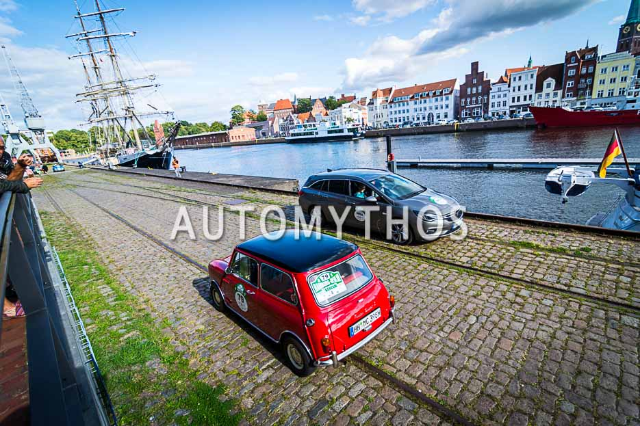 Automythos | 10. Hamburg Berlin Klassik 2017 | 79 | Dennis Horstmann & Louis Horstmann | Austin Mini Cooper S