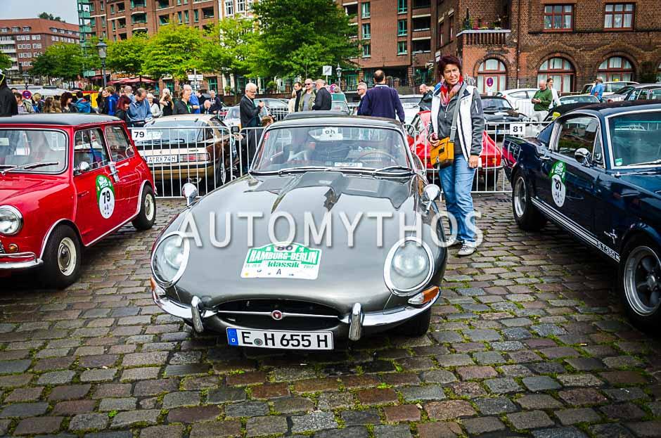 Automythos | 10. Hamburg Berlin Klassik 2017 | 80 | Uwe Simdorn & Günter Henseleit | Jaguar E-Type Series 1