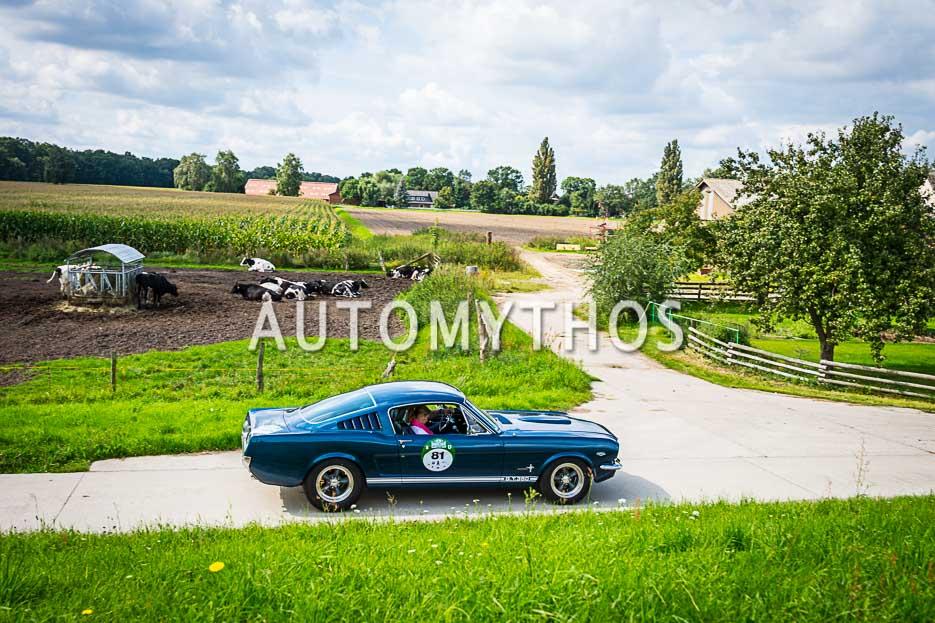Automythos | 10. Hamburg Berlin Klassik 2017 | 81 | Sven Ehrenbrand & Britta Plümke | Ford Mustang GT Fastback