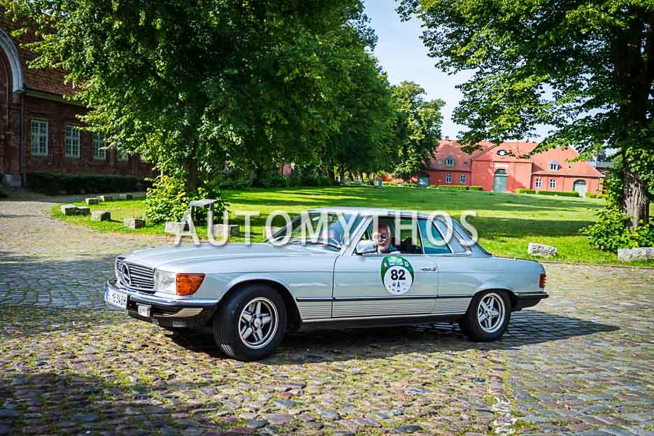 Automythos | 10. Hamburg Berlin Klassik 2017 | 82 | Heino Landsberg & Dagmar Landsberg | Mercedes-Benz 450 SL