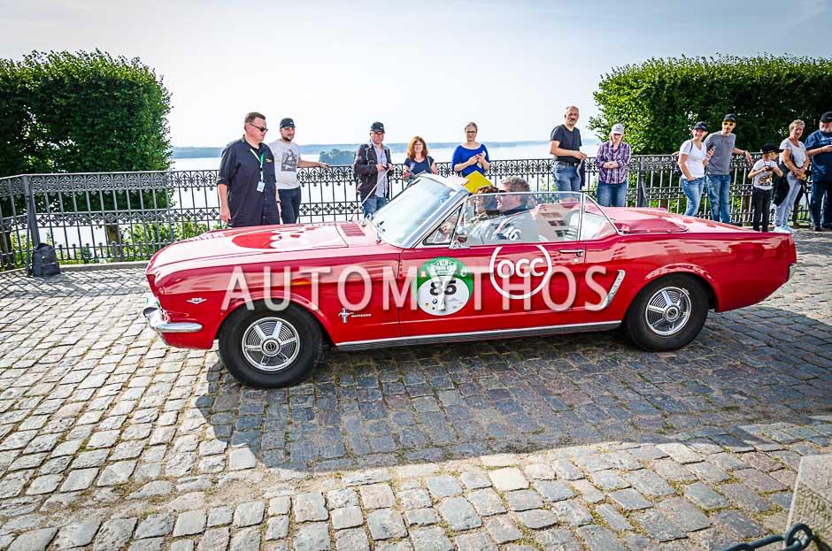 Automythos | 10. Hamburg Berlin Klassik 2017 | 85 | Carsten Möller & Uta Möller | Ford Mustang Convertible