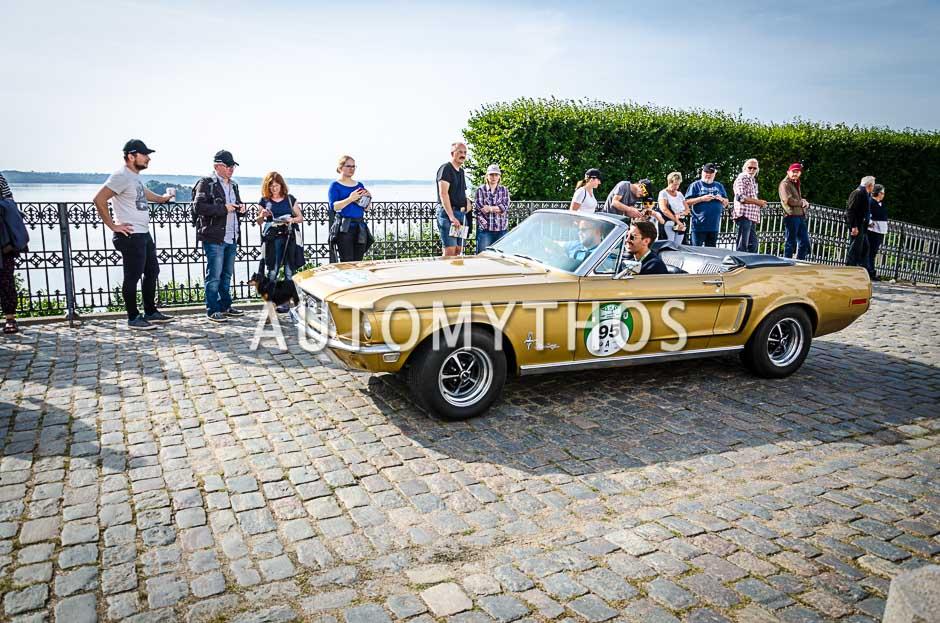 Automythos | 10. Hamburg Berlin Klassik 2017 | 95 | Sebastian Lindau & Justus Wörmer | Ford Mustang Cabriolet