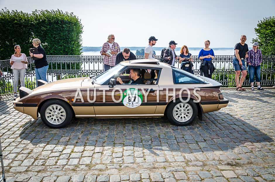 Automythos | 10. Hamburg Berlin Klassik 2017 | 97 | Joachim Frey & Simone Frey | Mazda RX-7