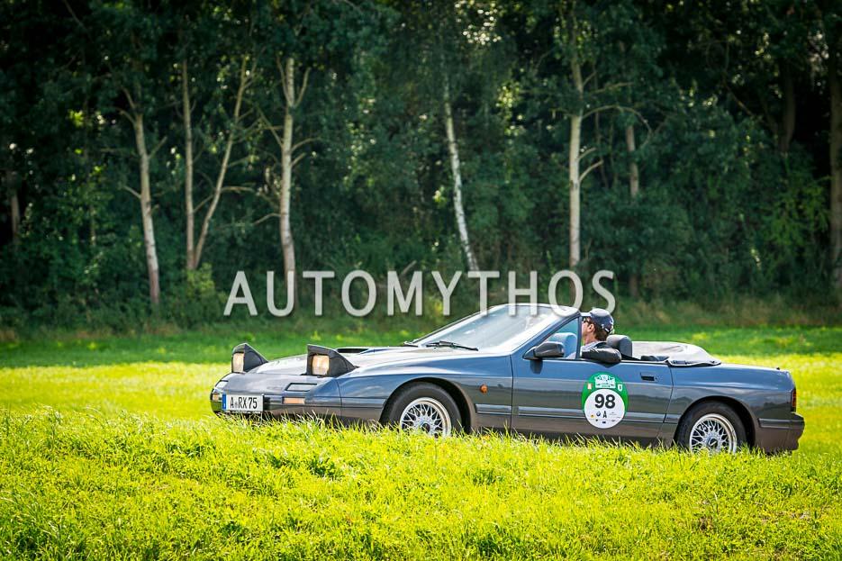 Automythos | 10. Hamburg Berlin Klassik 2017 | 98 | Tomas Hirschberger & Jochen Münzinger | Mazda RX-7 Cabriolet