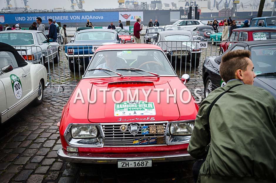 Automythos | 10. Hamburg Berlin Klassik 2017 | 99 | Guolf J. Gattiker & Gian-Fadri Gattiker | Lancia Fulvia Sport 1 .3 Zagato