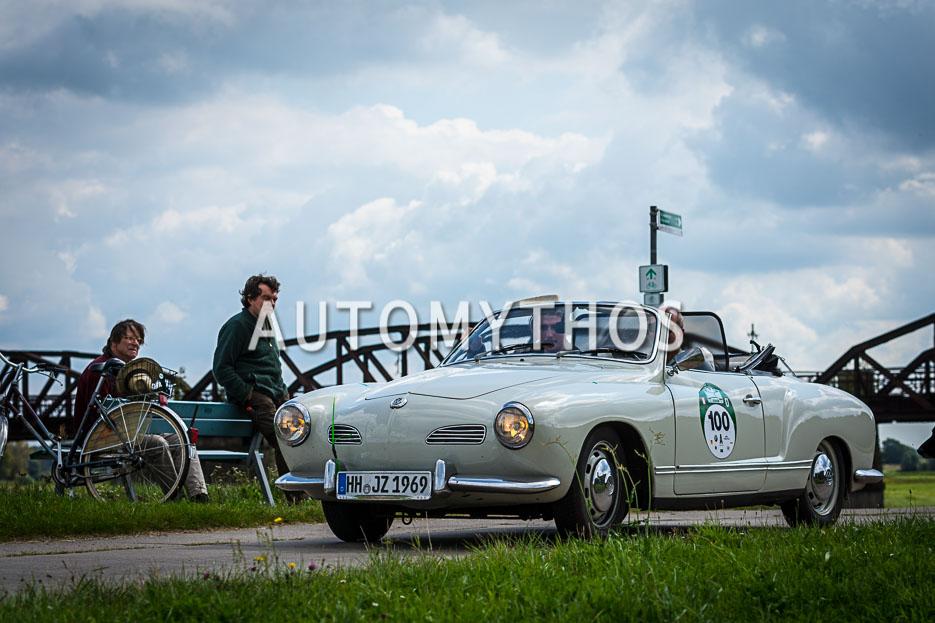 Automythos | 10. Hamburg Berlin Klassik 2017 | 100 | Joachim Zeunges & Frederik Zeunges | Volkswagen Karmann-Ghia