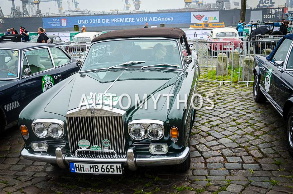 Automythos   10. Hamburg Berlin Klassik 2017   107   Erhard Mueller-Behnke & Anja Brauer   Rolls-Royce Corniche