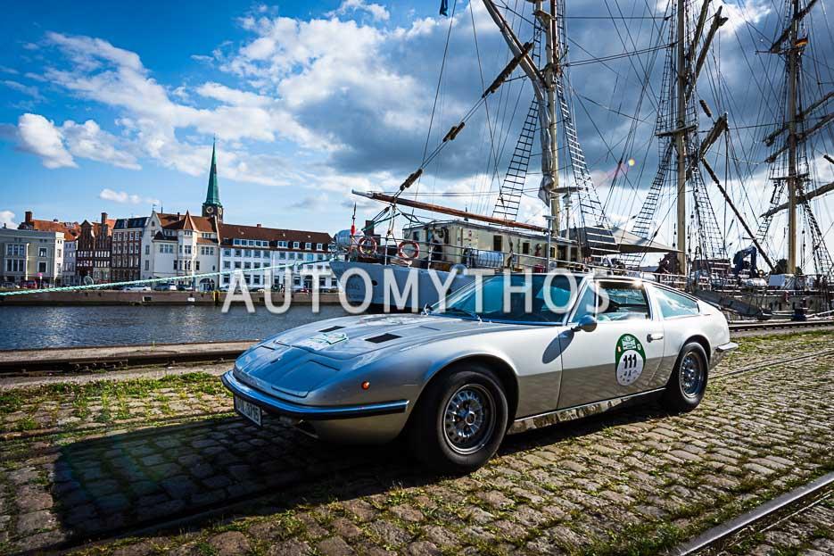 Automythos | 10. Hamburg Berlin Klassik 2017 | 111 | Petr Fiala & Soňa Nejedlá | Maserati Indy