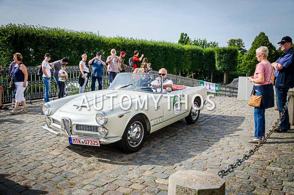 Automythos | 10. Hamburg Berlin Klassik 2017 | 113 | Peter Eyring & Gerd Moses | Alfa Romeo Spider 2000 Touring