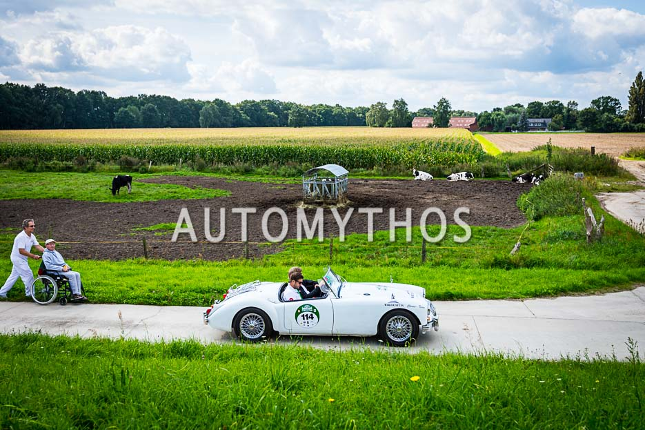 Automythos | 10. Hamburg Berlin Klassik 2017 | 114 | Marc Philippzik & Carsten Juhnke | MG MGA 1600