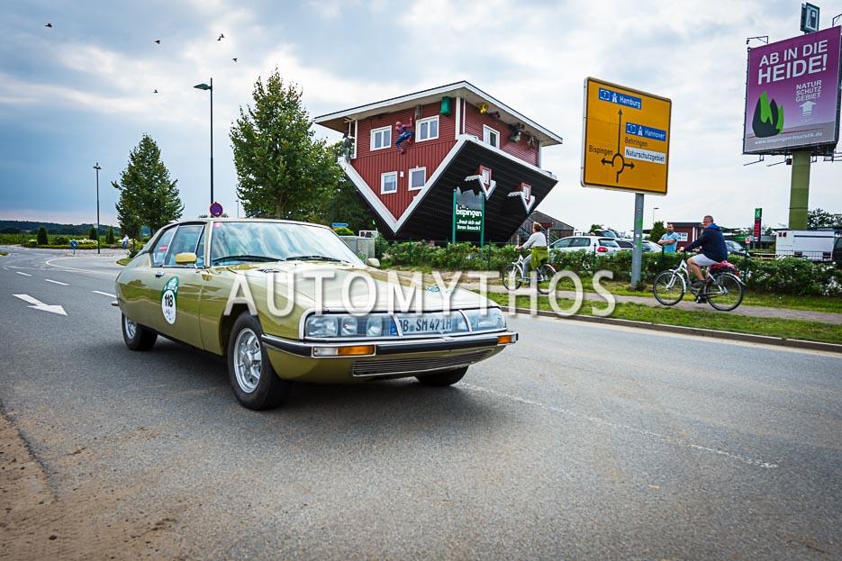 Automythos | 10. Hamburg Berlin Klassik 2017 | 118 | Manfred Postert & Susanne Postert | Citroën SM